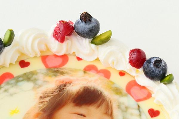 写真ケーキ 生デコ 4号 12cmの画像7枚目