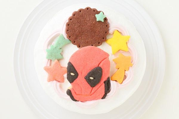 キャラクタークッキーのデコレーションケーキ 4号 12cmの画像3枚目