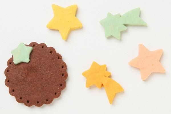 キャラクタークッキーの生クリームデコレーションケーキ☆国産小麦粉と安心材料 4号 12cmの画像7枚目