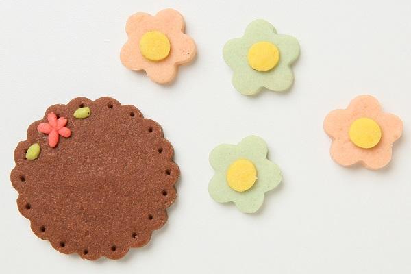 キャラクタークッキーの生クリームデコレーションケーキ☆国産小麦粉と安心材料 4号 12cmの画像8枚目
