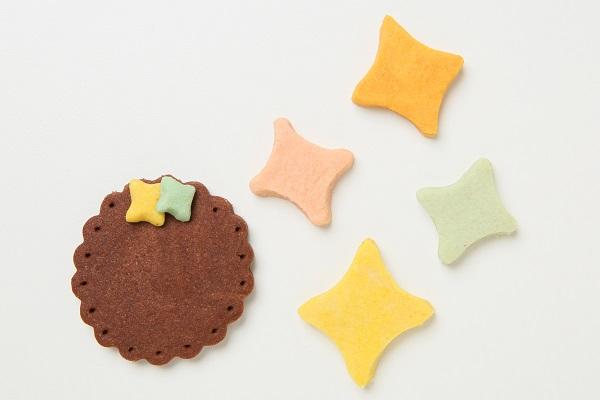 キャラクタークッキーの生クリームデコレーションケーキ☆国産小麦粉と安心材料 4号 12cmの画像9枚目