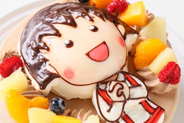 立体チョコクリームデコレーションケーキ 5号 15cmの画像9枚目