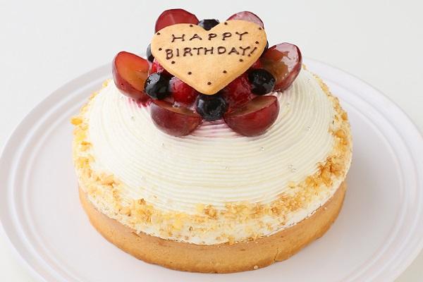 【一日5台限定】木苺のホワイトバースデーケーキ 14cmの画像3枚目