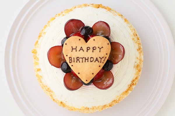 【一日5台限定】木苺のホワイトバースデーケーキ 14cmの画像4枚目