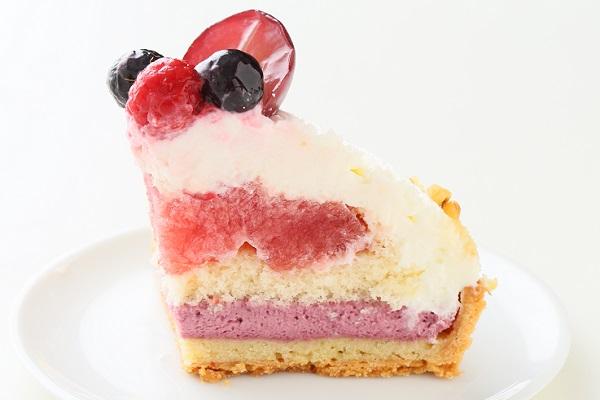 【一日5台限定】木苺のホワイトバースデーケーキ 14cmの画像6枚目