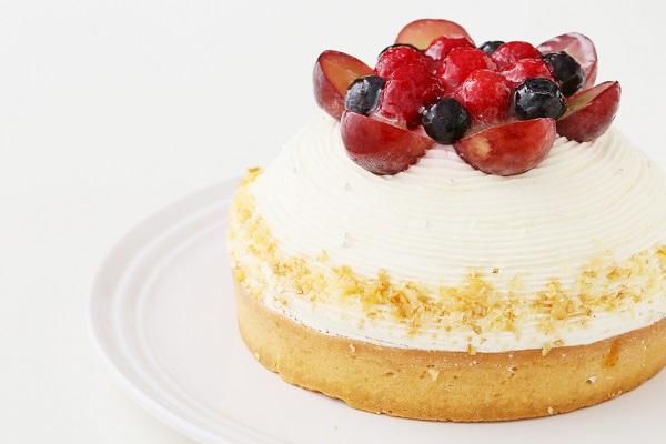 【一日5台限定】木苺のホワイトバースデーケーキ 14cmの画像9枚目