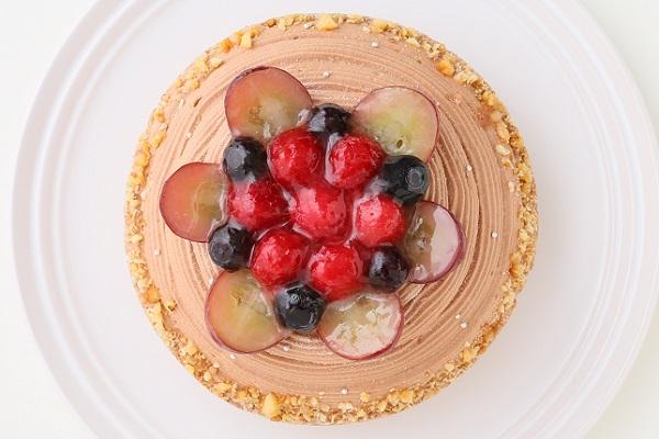 【一日5台限定】木苺のチョコレートバースデーケーキ 14cmの画像2枚目