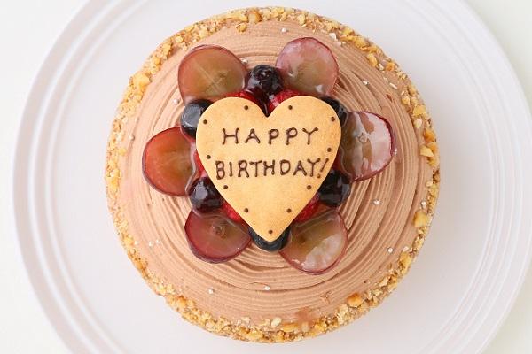 【一日5台限定】木苺のチョコレートバースデーケーキ 14cmの画像4枚目