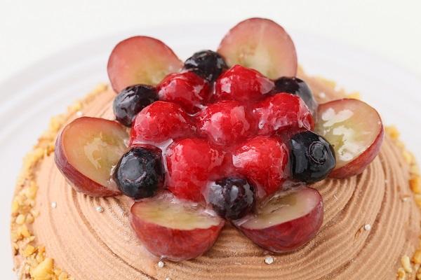 【一日5台限定】木苺のチョコレートバースデーケーキ 14cmの画像6枚目