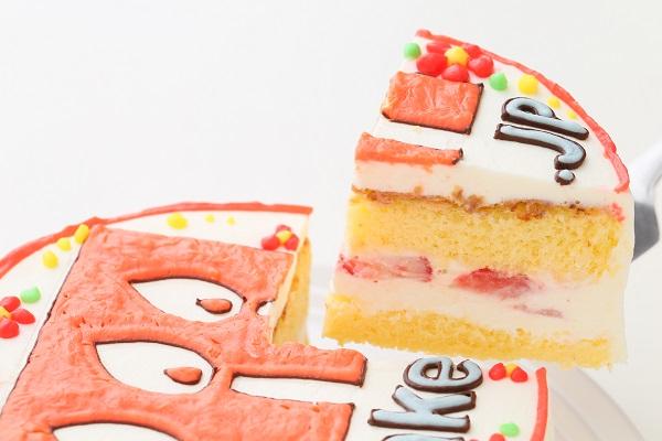 企業ロゴ&ブランドロゴケーキ(丸型)4号 12cmの画像3枚目