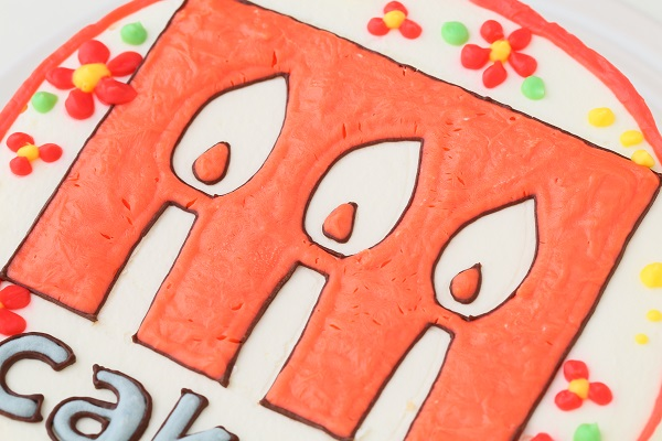 企業ロゴ&ブランドロゴケーキ(丸型)4号 12cmの画像6枚目