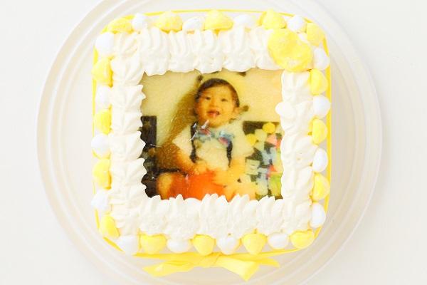 お好きな色が選べる!カラフルフォトケーキ 15×15cmの画像6枚目