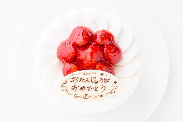 イチゴ生デコレーションケーキ 4号 12cmの画像2枚目