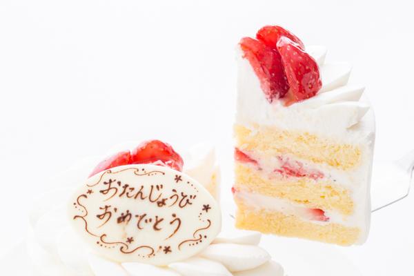 イチゴ生デコレーションケーキ 4号 12cmの画像3枚目
