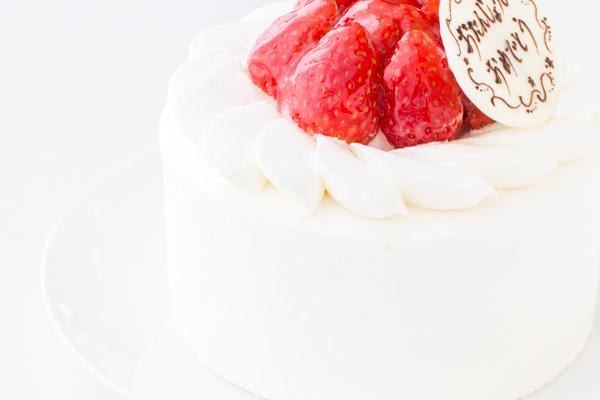 イチゴ生デコレーションケーキ 4号 12cmの画像8枚目