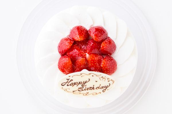 イチゴ生デコレーションケーキ 5号 15cmの画像2枚目