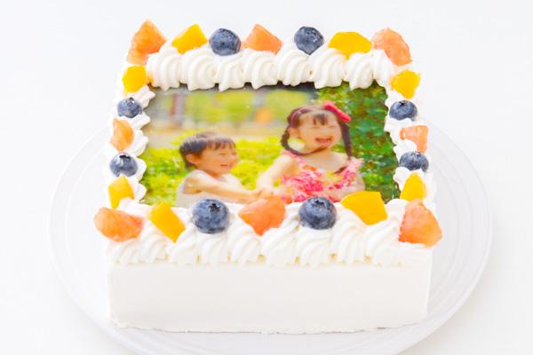 スクエア写真ケーキ 5号 15cmの画像2枚目