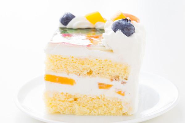 スクエア写真ケーキ 5号 15cmの画像4枚目