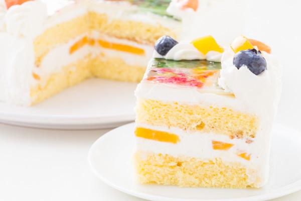 スクエア写真ケーキ 5号 15cmの画像5枚目