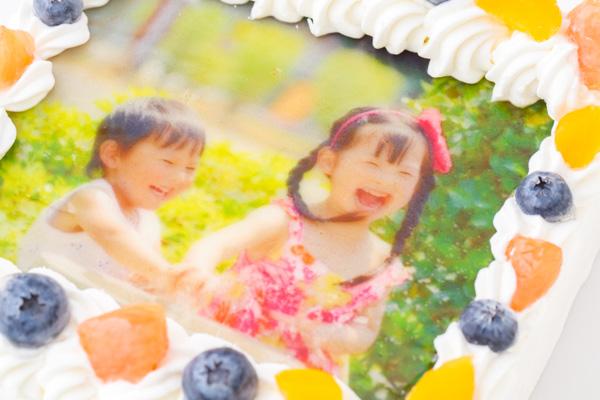 スクエア写真ケーキ 5号 15cmの画像6枚目