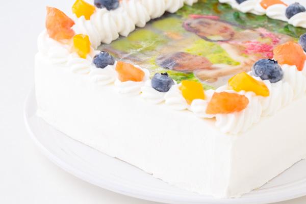 スクエア写真ケーキ 5号 15cmの画像8枚目
