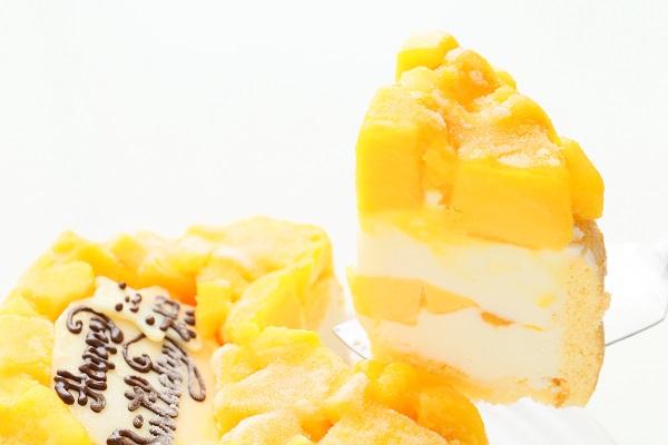 生乳アイスクリームマンゴーアイスケーキ4号 12cmの画像3枚目