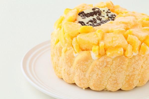 生乳アイスクリームマンゴーアイスケーキ4号 12cmの画像8枚目