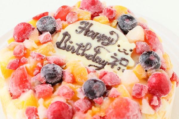 生乳アイスクリームフルーツアイスケーキ5号 15cmの画像6枚目