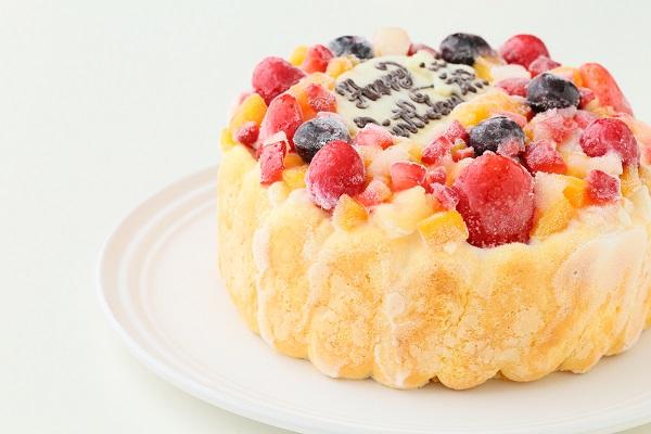 生乳アイスクリームフルーツアイスケーキ5号 15cmの画像8枚目