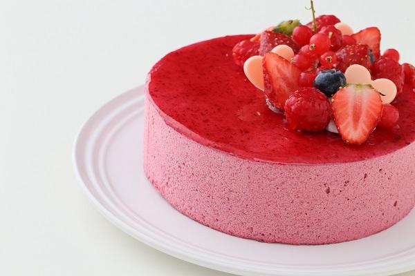 カシスとミルクチョコレートのアイスケーキ 4号 12cmの画像11枚目