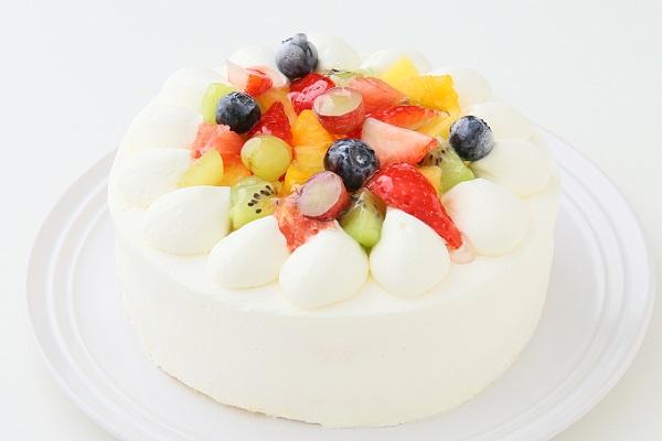 フルーツデコレーションケーキ 5号 15cmの画像1枚目
