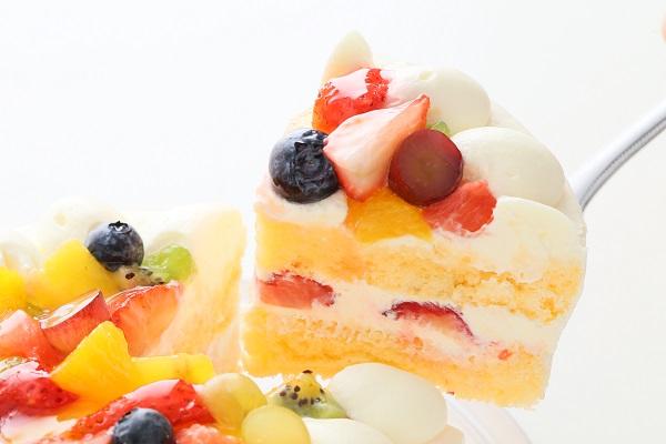 フルーツデコレーションケーキ 5号 15cmの画像3枚目