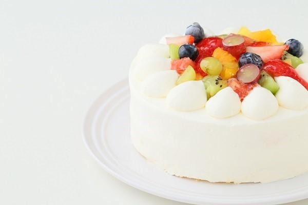 フルーツデコレーションケーキ 5号 15cmの画像7枚目