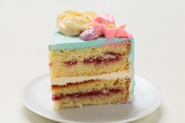 フラワーバタークリームデコレーションケーキ 5号 15cmの画像4枚目