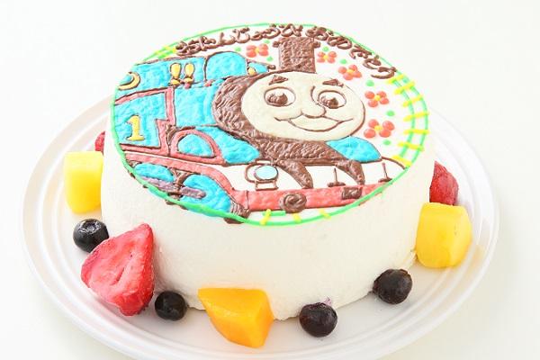 イラスト1体のみ イラストデコレーションケーキ(丸型)4号 12cmの画像2枚目