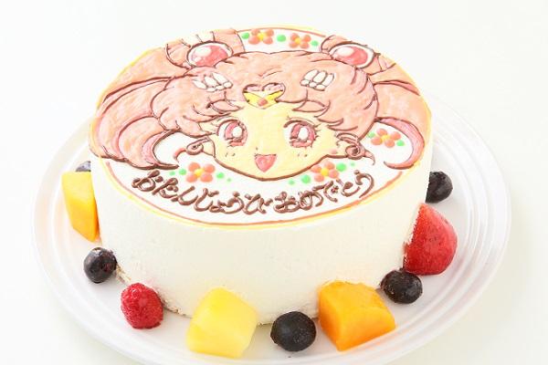 イラスト1体のみ イラストデコレーションケーキ(丸型)4号 12cmの画像3枚目