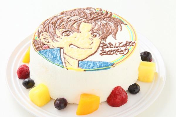 イラスト1体のみ イラストデコレーションケーキ(丸型)4号 12cmの画像5枚目