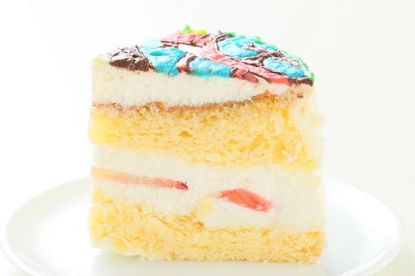 イラスト1体のみ イラストデコレーションケーキ(丸型)4号 12cmの画像7枚目