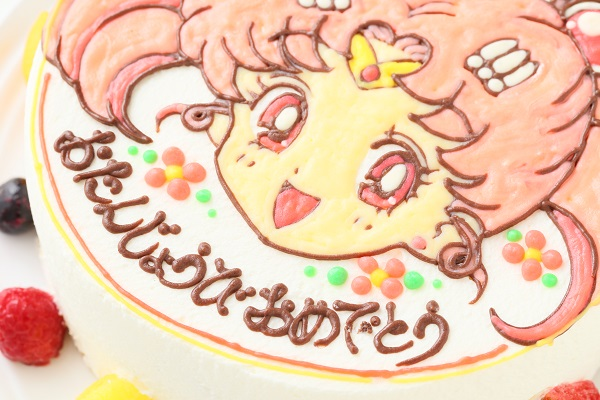 イラスト1体のみ イラストデコレーションケーキ(丸型)4号 12cmの画像10枚目