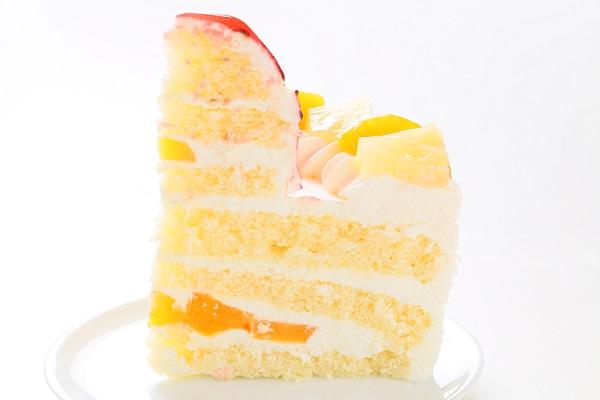 のりもの立体生クリームデコレーションケーキ 5号 15cmの画像7枚目