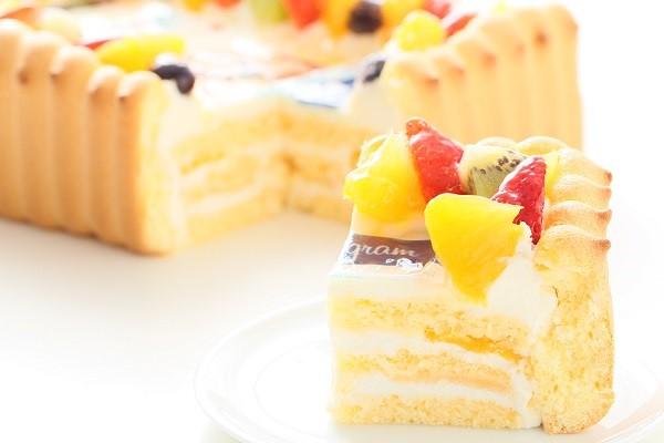 インスタグラム風フレームの写真ケーキ 23cm×15cm×6cmの画像5枚目