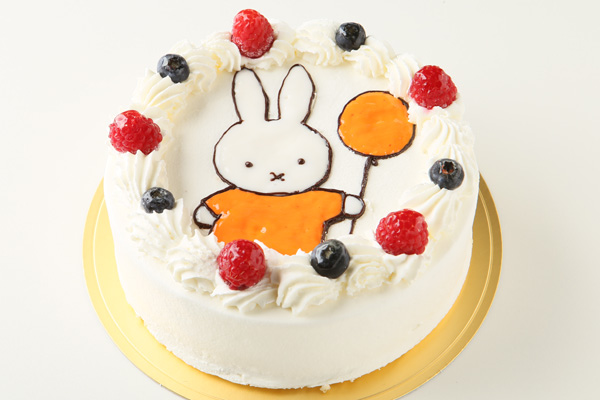 イラストデコレーションケーキ 4号 12cmの画像3枚目