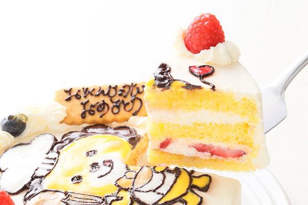 イラストデコレーションケーキ 5号 15cmの画像3枚目