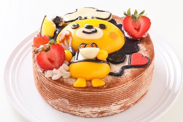 土台あり 立体キャラクターケーキ ショコラ 5号 15cmの画像3枚目