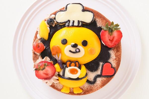 土台あり 立体キャラクターケーキ ショコラ 5号 15cmの画像4枚目