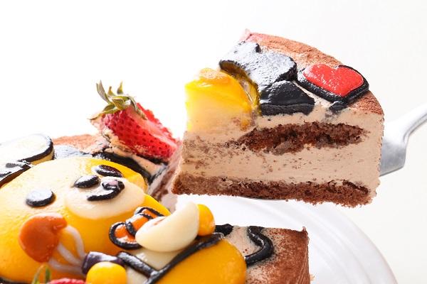 土台あり 立体キャラクターケーキ ショコラ 5号 15cmの画像5枚目