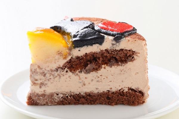 土台あり 立体キャラクターケーキ ショコラ 5号 15cmの画像6枚目