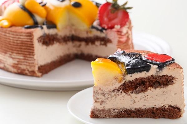 土台あり 立体キャラクターケーキ ショコラ 5号 15cmの画像7枚目