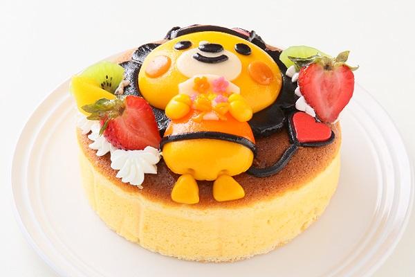 土台あり 立体キャラクターケーキ スフレチーズケーキ 5号 15cmの画像3枚目