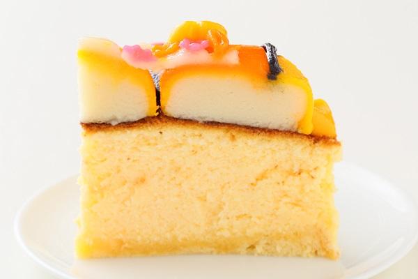 土台あり 立体キャラクターケーキ スフレチーズケーキ 5号 15cmの画像6枚目